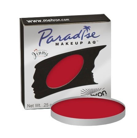 Mehron Paradise Makeup Red Single Refill (0.25 Ounce Refill)