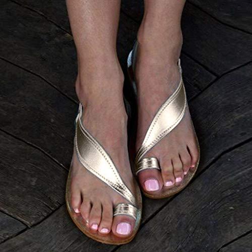 Argent Casual Sunnywill Printemps De De Sandales Noir Eté Gladiateur De Argent Marron Plage Doux Chaussures Plage XfXZw