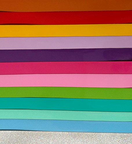 [해외]VinylXSticker - Tropical Girl 's Pack 12 x 12 Oracal 651 및 글리터 영구 실외 (광택) 접착 성 비닐, Cottonut, Cameo, Craft Cutt/VinylX