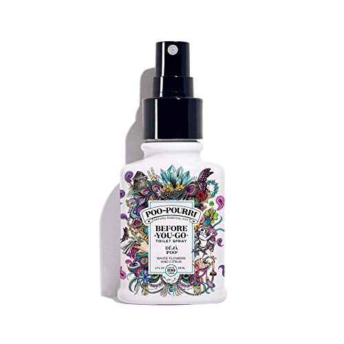 Poo-Pourri Before-You-Go Toilet Spray 2 oz Bottle, Deja Poo Scent ()