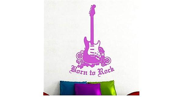 YuanMinglu Guitarra eléctrica Etiqueta de la Pared Sala de Estar ...