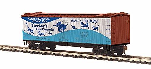 (HO R40-2 Wood Reefer, Gerber Products #1008)