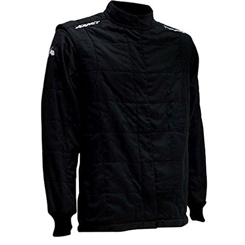 - IMPACT RACING Black Medium The Racer Driving Jacket P/N 22500410