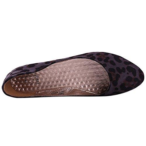 eaad41a6a9a1 Alexis Leroy Women's Sexy Leopard Design Low Top Ballet Flats Shoes best