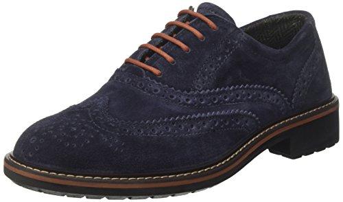IGI&CO Uca 8681, Scarpe Stringate Basse Oxford Uomo Blu