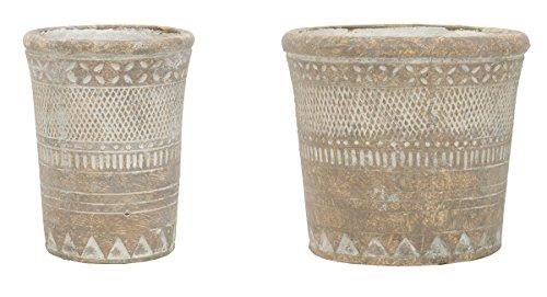 Santa Fe Vase - Santa FE Concrete Pot Set of 2