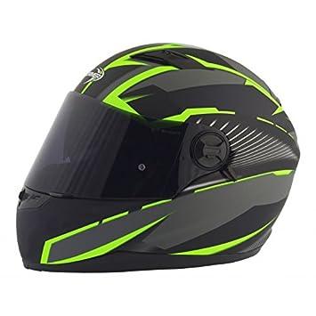 Stormer casco integral, verde mate