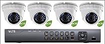 4 CH 3MP H.265 HD-TVI 5 in 1 DVR w/ 1TB HDD and 4 (2MP) 1080P Turret Cameras