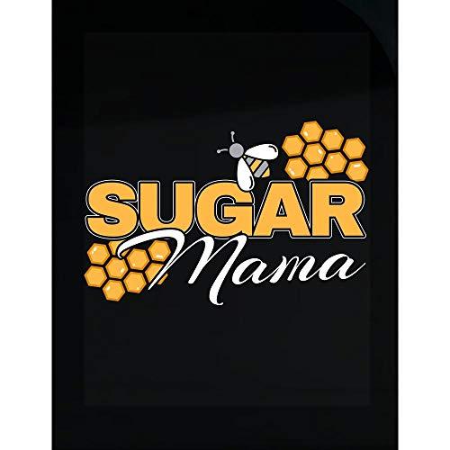 Custom Chimp Funny Honey Comb Sugar Mama Bee Hive Cute Beekeeper Queen Bee - Transparent Sticker