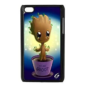 LSQDIY(R) groot guardian iPod Touch 4 Personalized Case, Customised iPod Touch 4 Case groot guardian