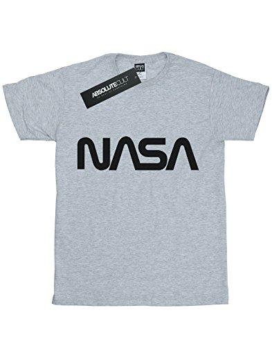 Sport Nasa Logo Absolute Garçon Gris T Cult Modern shirt fw7qUa6