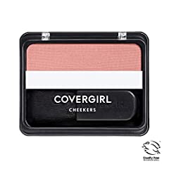 Get natural-looking cheek color with COVERGIRL Cheekers Blush. This blendable soft powder has been dermatologically tested and is easy to apply. Just brush on for a soft look.