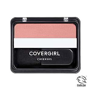 COVERGIRL Cheekers Blendable Powder Blush Pretty Peach.12 oz (packaging may vary)
