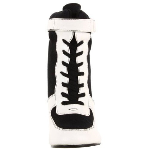 Funtasma 125 White and Black Pu Canvas REFEREE rR4nrwqv