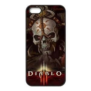 Diablo funda iPhone 4 4s caja funda del teléfono celular del teléfono celular negro cubierta de la caja funda EEECBCAAB10995