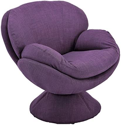 Comfort Chair Mac Motion Purple Pub Leisure Accent Chair Fabric
