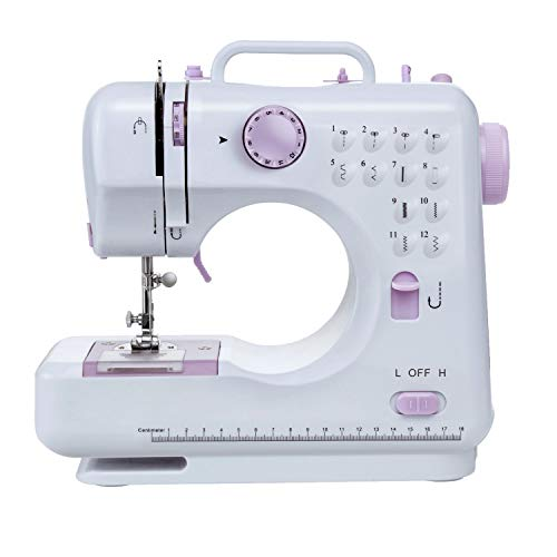 Best Price Varmax Sewing Machine with 12 Stitches Multifunctional Sewing Machine with Zigzags Backst...
