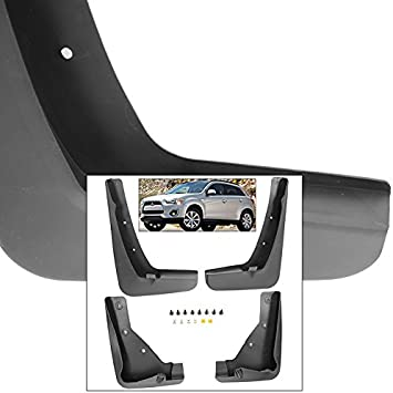 For Mitsubishi Outlander 14-15 Mud Flaps Splash Guards Car Fender Mudguards Set