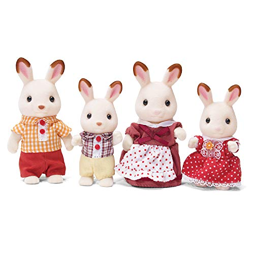 Calico Critters, Hopscotch Rabbit Family, Dolls, Dollhouse Figures, Collectible Toys from Calico Critters