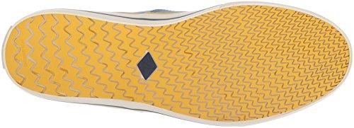 Sperry Top-sider Mens Capitani Cvo Sneaker Nautico Blu Medio