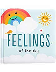Kate & Milo Feelings of The Sky Board Book for Babies, Touch and Feel, Toddler or Baby Learning Book