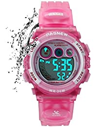 Kids Sports Watches Children For Girls Boys Waterproof...