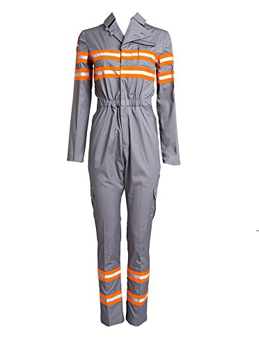 [LYLAS Cosplay Costume Adult Jumpsuits Halloween Uniform (Female-XL)] (Ghost Baby Halloween Costume)