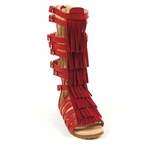 Metal Baby Girl Sandals - 3