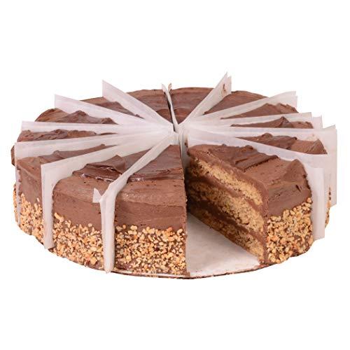 Sweet Street Gluten Free Nutella Iced Chocolate Nut Torta 3.125 lb (14 Slice) Pack of 2 by Sweet Street Frozen (Image #1)