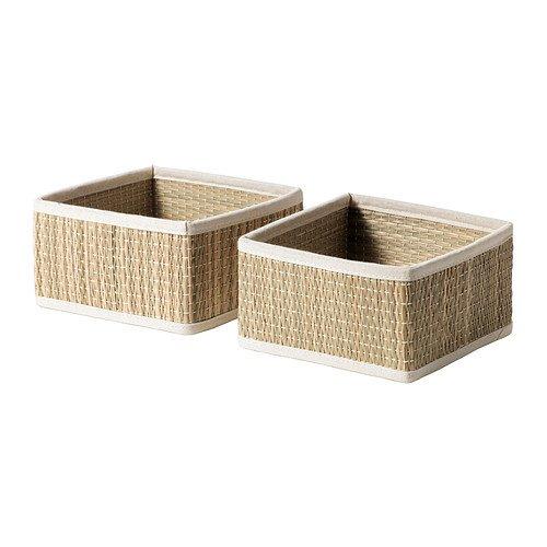 Ikea Salnan Seagrass Basket, 2 Pack (small)