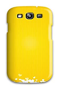 Galaxy S3 Case Cover Skin : Premium High Quality Bright Sunny Yellow Case