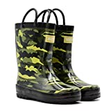 Mucky Wear Children's Rubber Rain Boots Available in Different Colorful Designs