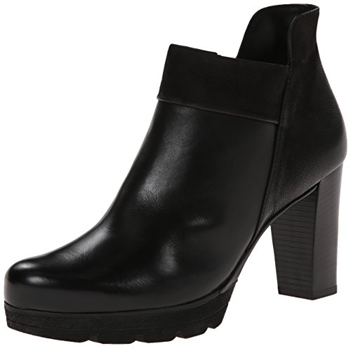 Paul Green Women's Alissa Boot , Black Leather , 8.5 M US