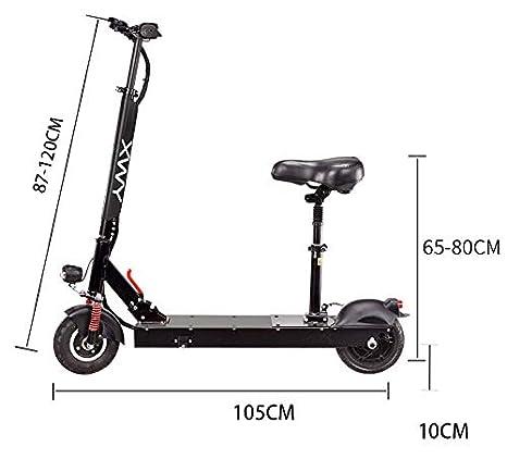 YIBEN Scooter, Scooter electrico, Amortiguador de Resorte ...