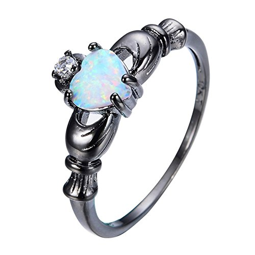 Slyq Jewelry New Heart Style White