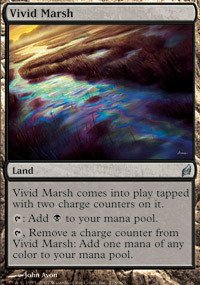 Magic: the Gathering - Vivid Marsh - Lorwyn - Foil