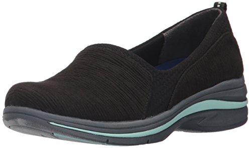 Dr. Scholls Shoes Womens Slip-on Slip-on Mocassino Con Stampa Hatch Nero