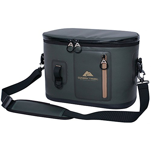Ozark Trail 12-Can Premium Cooler, Green