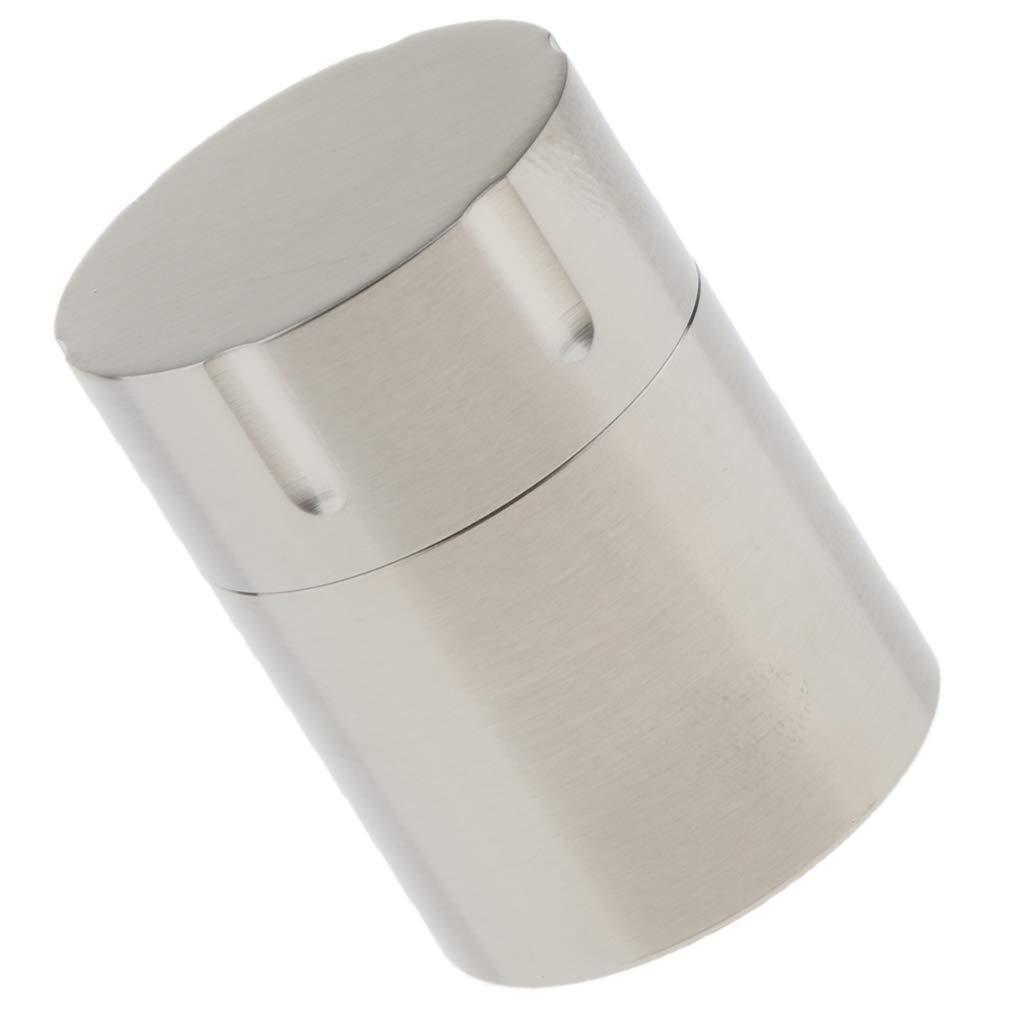 P Prettyia Capsula//Scatola Pillole Impermeabile Scatola Porta Pillole in Titanio Sport Accessori