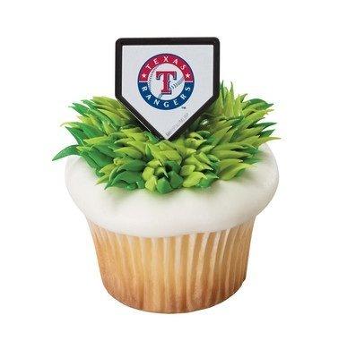 MLB Texas Rangers Cupcake Rings - 24 -