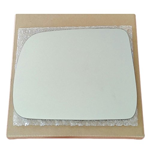 Mirror Glass and Adhesive   04-07 Mitsubishi Endeavor SUV Driver Left Side Replacement