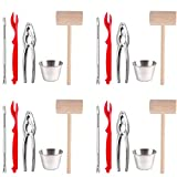 Artcome 22 Piece Seafood Tools Set for 4 People including 4 Lobster Crab