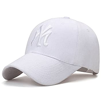 89762fc9dcb Llxln Fashion Cotton Baseball Cap Ny Snapback For Men Women Sun Hat Letter  A  Amazon.co.uk  Sports   Outdoors