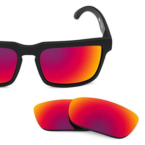 Verres de rechange pour Spy Optic Helm — Plusieurs options Soleil de Minuit MirrorShield® - Polarisés