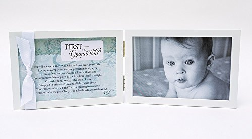 First Grandchild Gift for New Grandparents - Poetry Frame