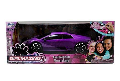 Jada Toys GirlMazing R/C Lamborghini Murcielago , Purple