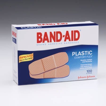 Johnson And Johnson Sales Band-aid Adhesive Bandages X-large 1.75 X 4 Plastic Sheer - Model 5716 - Box of 50 by Johnson & Johnson