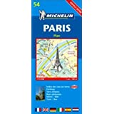 Michelin Map No. 55 Paris Street Map, Index of Streets, Practical Information and Transportation, Scale 1:10,000 (Michelin Guides and Maps) (2004-12-01)