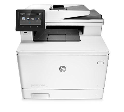 HP Color Laserjet Pro M377dw Multifunktions-Farblaserdrucker (Drucker, Scanner, Kopierer, Duplex, WiFi, Netzwerk, HP ePrint, Airprint, Cloud Print, USB) weiß