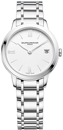 Baume and Mercier Classima White Dial Ladies Watch M0A10335
